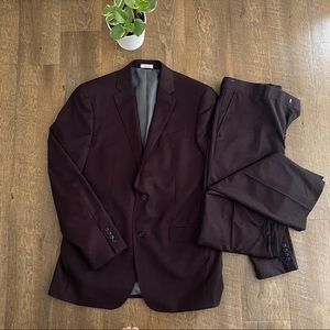 J Ferrar Slim Fit Suit (unaltered)